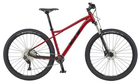 """Kerékpár 27,5"""" 2021 GT AVALANCHE Elite Piros-Fekete S, M és L méretekben"""