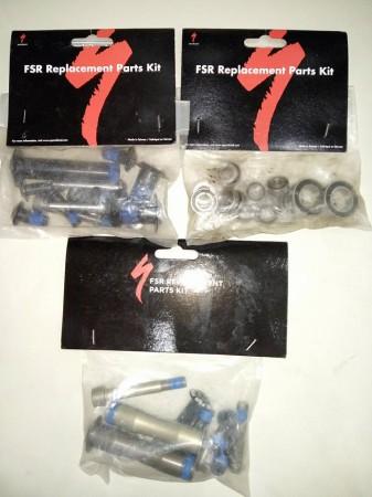 Új Specialized FSR felújító szettek, csavarok, csapágyak