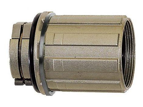 Novatec hátsó agyhoz kazettatest acél Type A Shimano 8-9-10 seb. (D042SB)