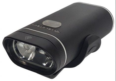 Lámpa első akkumlátoros USB Velotech 500 Lumen