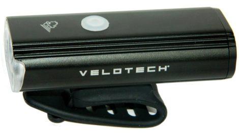 Lámpa első akkumlátoros USB Velotech Ultra 750 Lumen