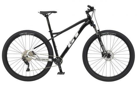 """Kerékpár 27,5"""" 2021 GT AVALANCHE Comp Fekete-Fehér (Előrendelhető)"""