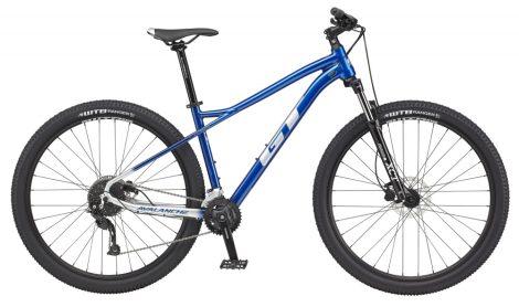 """Kerékpár 27,5"""" 2021 GT AVALANCHE Sport Kék-Ezüst Már csak 1db S-es méretben"""