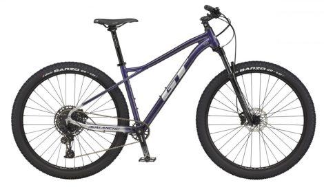 """Kerékpár 29"""" 2021 GT AVALANCHE EXPERT Lila-Ezüst (Előrendelhető)"""