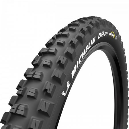 Gumiköpeny 27,5x2.40 Michelin DH34 Bike park Tubeless Ready drótperemes 1200g Készleten