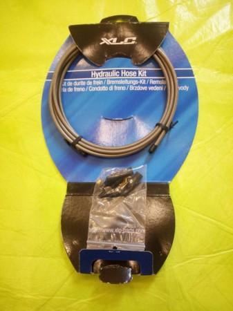 Új XLC 3000 mm hosszú, fémszövetes fékvezeték hidraulikus tárcsafékhez
