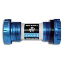 Középcsapágy integrált Hollowtech II 68-73mm 24mm Spyral kék (GXP adapterrel)