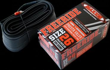 Gumitömlő 26x2.2/2.5 FV Maxxis Freeride 1.2 mm FR belső gumi 32 mm hosszú szeleppel, presta