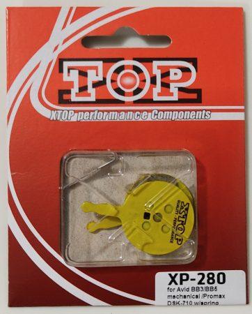 Fékbetét gyantás XTOP XP-280 Avid BB5