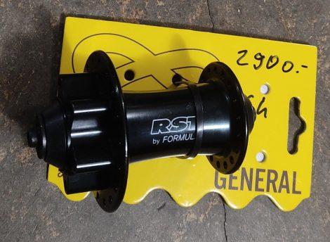 Agy első 9x100mm 36ly gyorszáras Formula / RST kónuszos tárcsás fekete