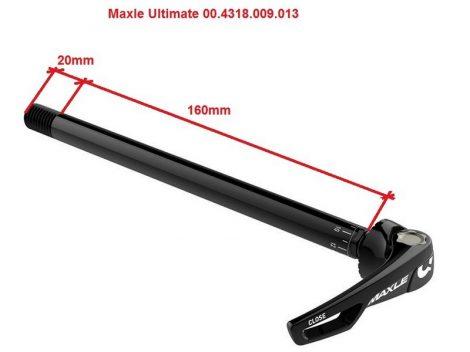 Átütőtengely Hátsó 12x148 - 180mm M12x1.75 Rock Shox Ultimate