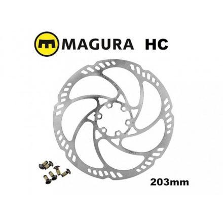 Féktárcsa 6 csavaros Magura Storm HC 203mm ÚJ