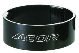 """A-head hézagoló 1 1/8"""" Alu Acor ASM-2710 Fekete Választható 5-10-15mm"""