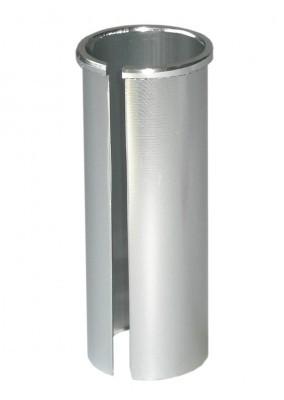 Nyeregcső adapter nyeregcső 27,2mm, váz 30,8mm, 80mm