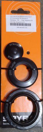 Kormánycsapágy Tapered Acél csészés, semi-cartridge csapágyas ZS44/ZS56 félintegrált Spyral Speed TP fekete