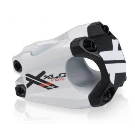 Kormányszár 31,8/40mm/15fok XLC Pro Ride ST-F02 Fehér-Fekete 194g