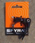 Nyeregbilincs gyorszáras 34,9/15mm Spyral Basic Fekete