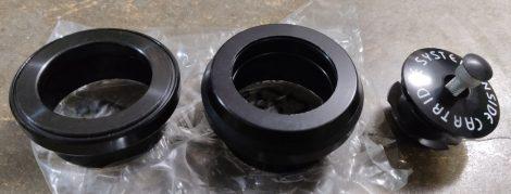 """Kormánycsapágy 1,5"""" EC49,5/EC49,5 Altrix Premium Cr-Mo csészés (fekete)"""