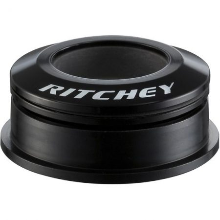 Kormánycsapágy Tapered Félintegrált ZS44/28,6mm ZS56/40mm Ritchey Comp Press Fit fekete (kupakkal + rózsával)