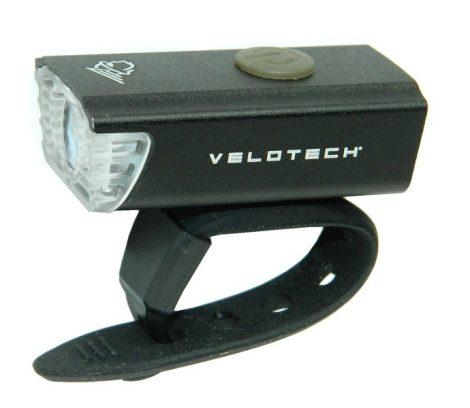 Lámpa első akkumlátoros USB Velotech Mini 45 Lumen