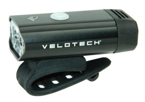 Lámpa első akkumlátoros USB Velotech 300 Lumen