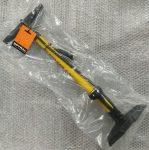 Műhelypumpa Spyral Technic Steel Yellow Nyomásmérős 11Bar/160Psi AV/FV Sárga