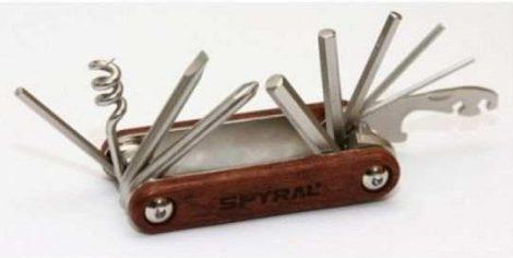 Marokszerszám Spyral Wood 12 funkciós Fa burkolattal