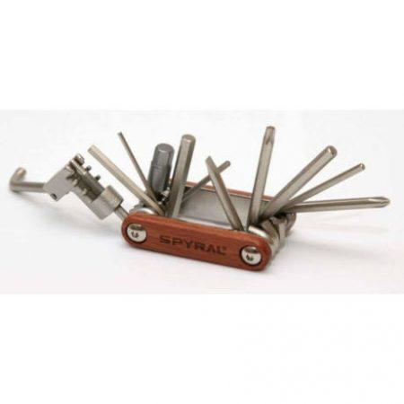 Marokszerszám Spyral Wood 11 funkciós imbusz T25 Torx Láncbontós Fa burkolattal