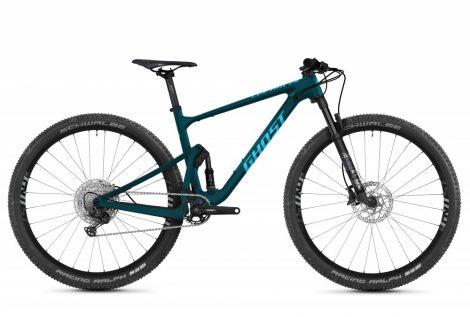 "Kerékpár Downcountry Fully 29"" 2021 Ghost Lector FS Essential - Kék / Óceánkék"